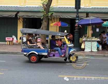 摩托上的王国感受泰国机车文化