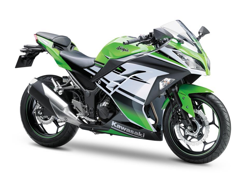 "Kawasaki发布Ninja300""忍者""三十周年纪念版"