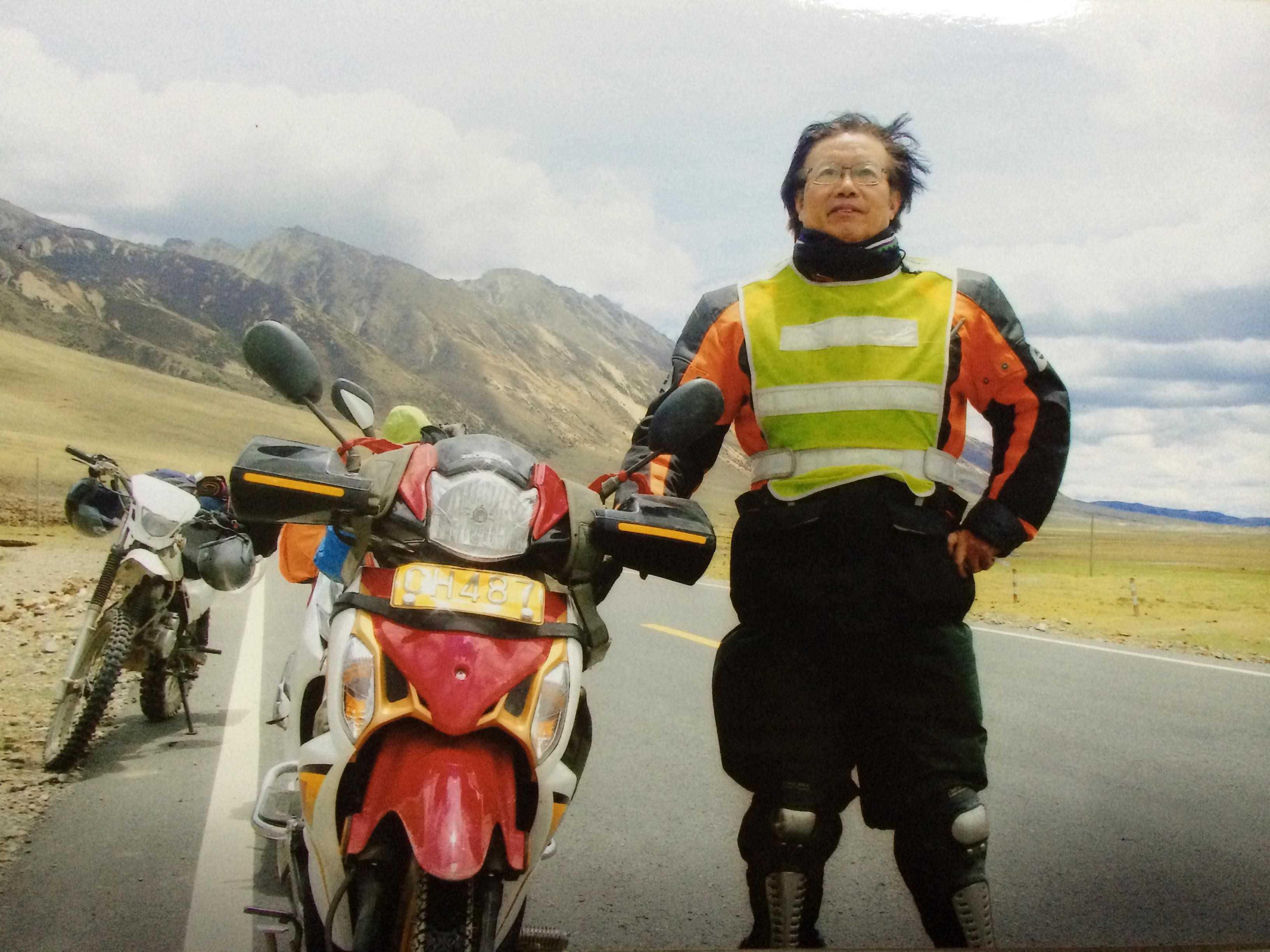 65岁退休老师骑行闯川藏(一)