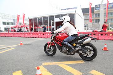 杜卡迪安全驾驶培训课程北京站结束
