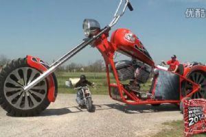 世界上最高的摩托车 破吉尼斯世界纪录