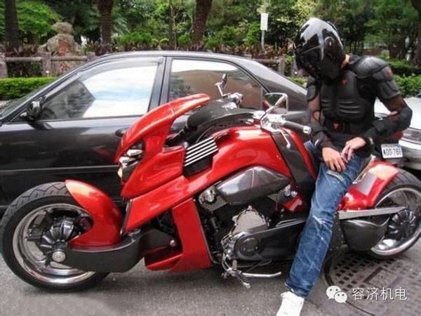 就要这个范儿爱摩托车的明星们