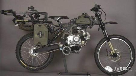 世界末日专用摩托车动力来自力帆