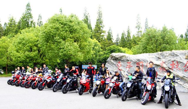 骑行是一种态度杜卡迪崇明岛骑行活动