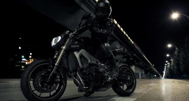 三缸黑色幽灵2014YamahaMT-09高性能街车