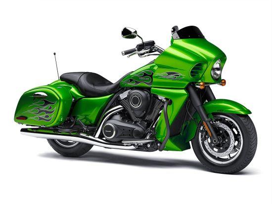 川崎五款巡航摩托2015年将推出的新版本