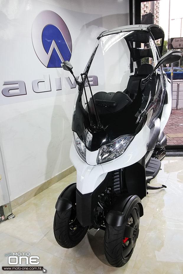 开蓬三轮摩托车ADIVAAD3豪华版登场