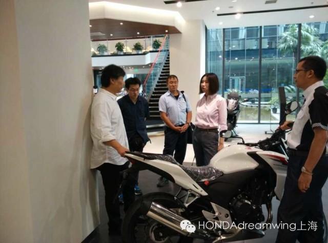 本田技术研究所莅临HONDAdreamwing上海店指导工作