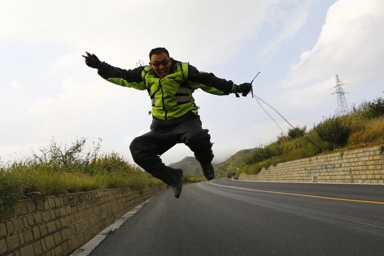 GW250自由之旅骑手:陈晨