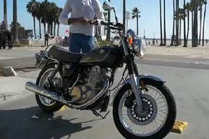 2015 Yamaha SR400摩托车首次试骑