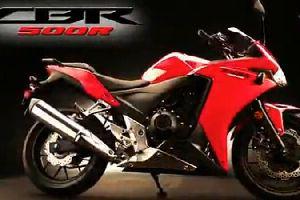 本田CBR500R、CB500F宣传视频