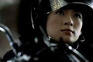 章子怡代言嘉爵摩托广告