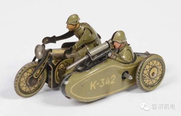 """值得收藏的摩托车""""铁皮玩具"""""""