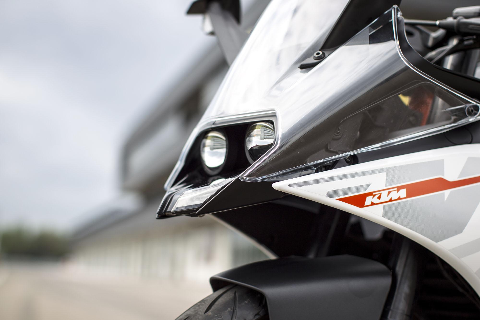 KTMRC390新车局部细节赏析