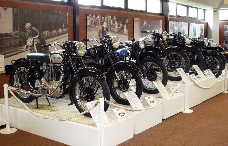 英国摩托车博物馆失窃馆方悬赏二万镑追凶