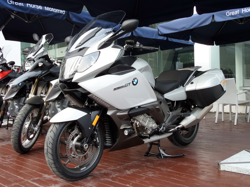 高性能休旅跑车BMWK1600GT