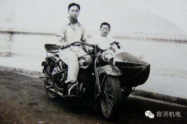 一起追忆民国时期的摩托车文化
