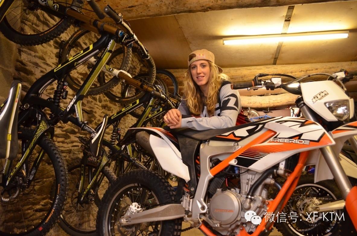 RachelAtherton:高山速降车遇上KTMFREERIDE