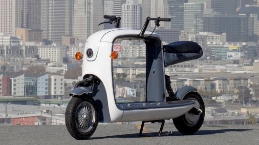 可运送货物的电动摩托车kubo