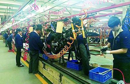 渝北将建设汽摩产业集群