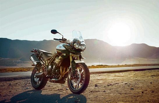 Triumph将推出2015款Tiger800