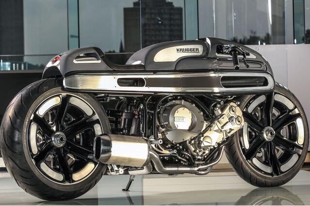 科隆车展改装车大赛冠军作品:bmw k1600