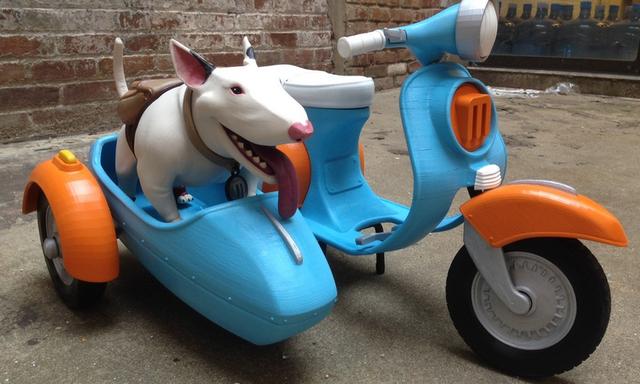 "3D打印�赢�""Margo""摩托�模型曝光"