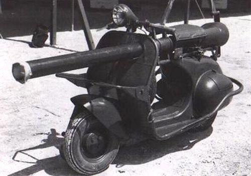 �P�c�v史上最坑爹的�事�l明:摩托�上�b大炮