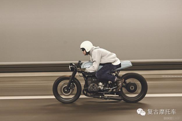 复古摩托车BMWR80的魅力