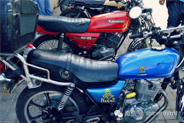 就爱骑摩托回忆光阴的故事