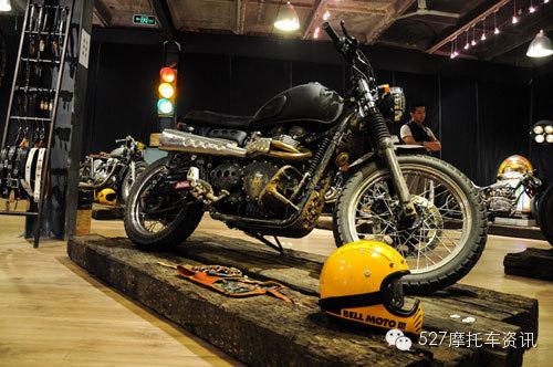 走进小众车型复古摩托车的世界