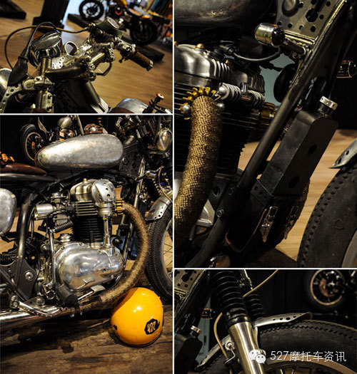 走进小众车型 复古摩托车的世界(3)