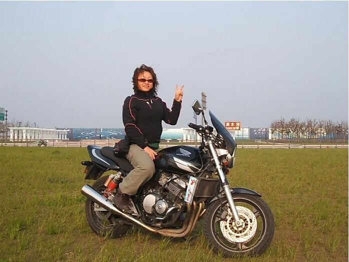 我���中的本田HondaCB400