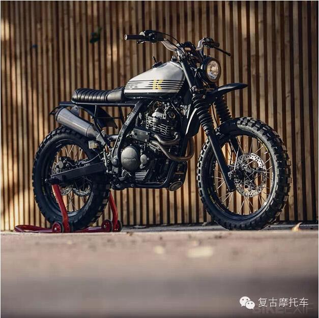 复古摩托车honda nx600_牛摩网