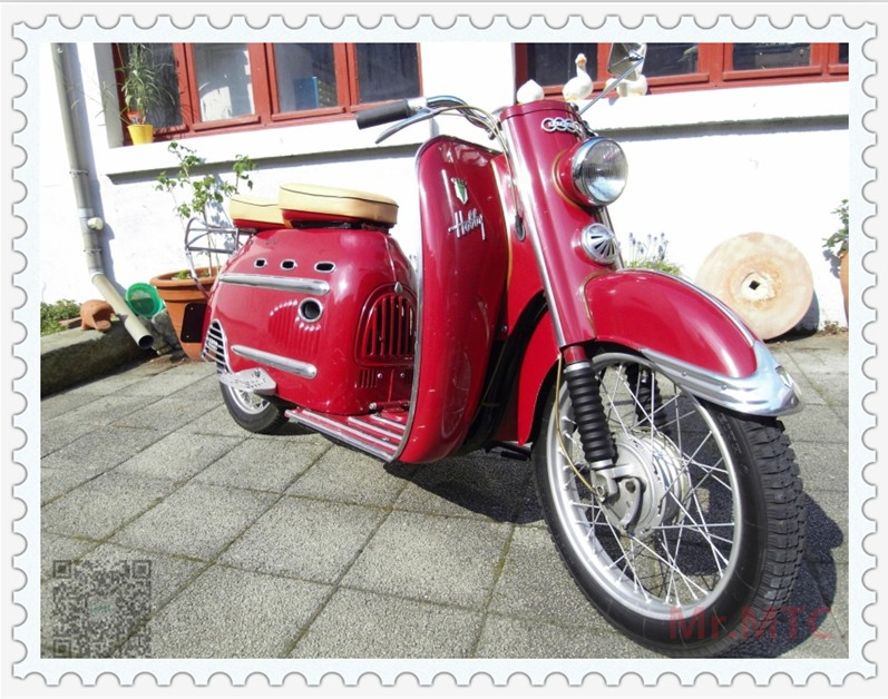 1955年生�a的�W迪踏板:DKWHobby