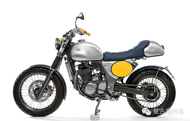 别有风味SuzukiXF650复古改装