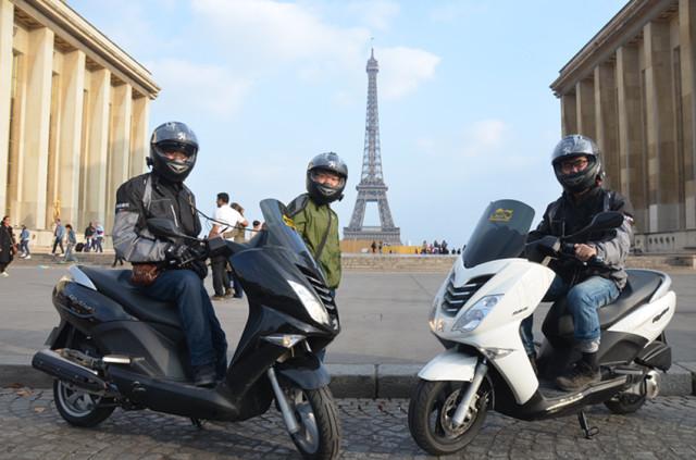 标致摩托CityStar200i环法浪漫之旅