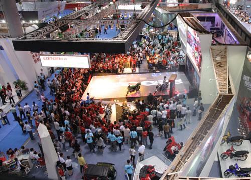 中国国际摩博会下周于重庆国博中心开幕