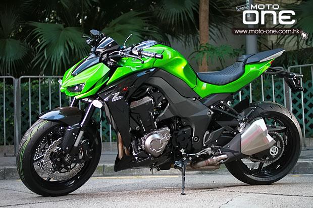 2015KawasakiZ1000绿色猛兽登场