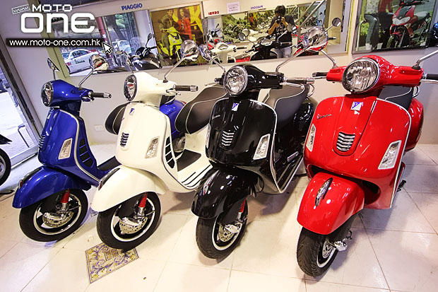 2015 Vespa GTS300ie Super 循迹铁壳羊