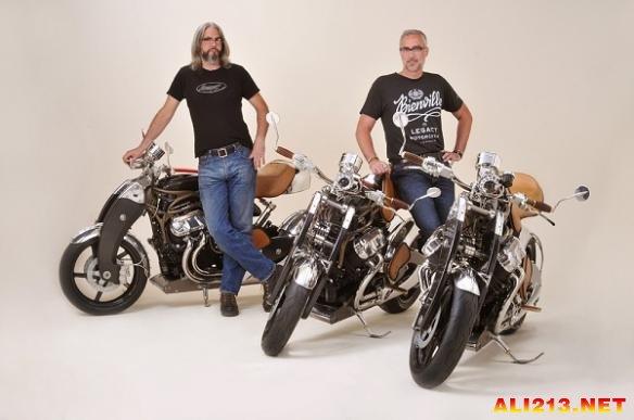 全身复古摇滚风!未来主义的风格摩托车