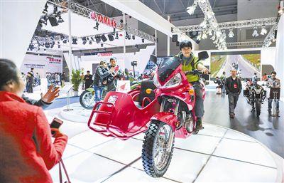 摩托车业产销低迷个性化新品成亮点