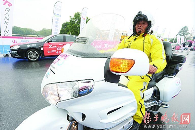 总价超千万揭秘环太湖赛的摩托车服务队