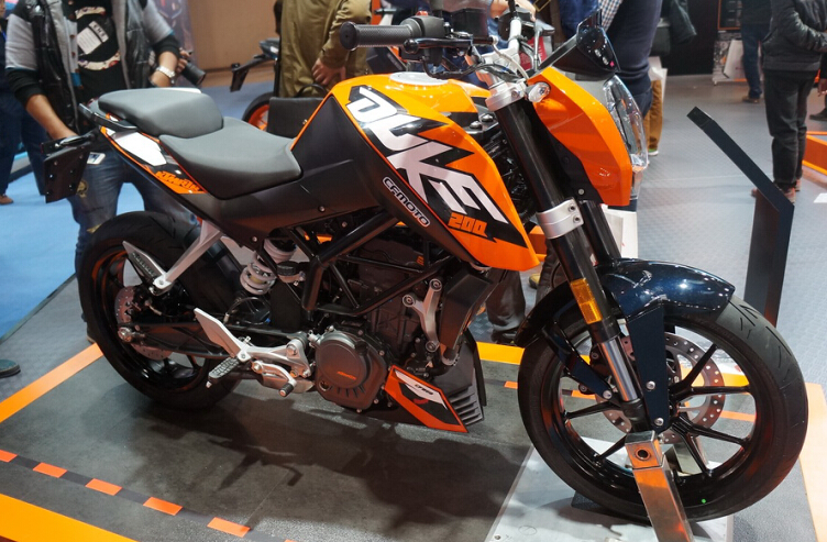 [直击摩博会]2014摩博会KTM参展车型