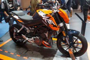 2014摩博会KTM 2014 DUKE 200