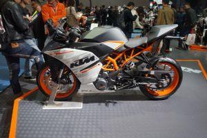 KTM2014 RC 390  2014摩博会KTM 2014 RC 390