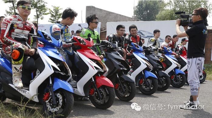 2014北京摩托车周末嘉年华飞鹰赛道英雄会