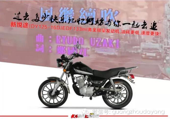 油耗低速度更快大阳DY125-16D新悦途