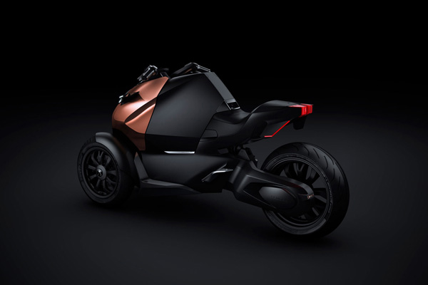 不只汽车这么简单 标致Onyx踏板摩托