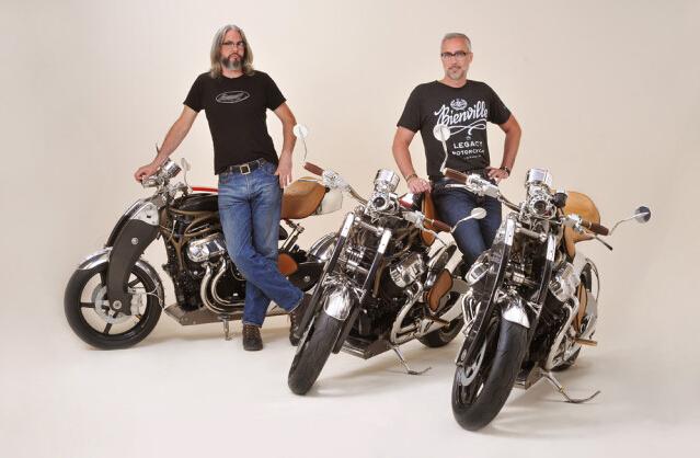BienvilleLegacy定制复古摩托车